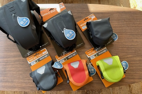 OLTLIEB  MICRO TOW & SADDLE-BAG TWO 各種入荷しました!!