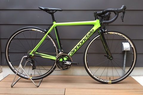 2018 cannondale SUPERSIX EVO ULTEGRA 試乗車 販売します!!